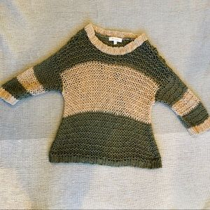 Turo by Vince Camuto Crochet Sweater